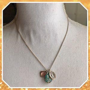 Ippolita Sterling Silver Three Pendant Necklace